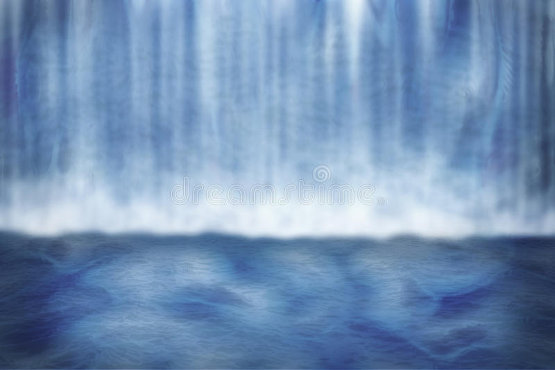 Waterfall Background vector illustration