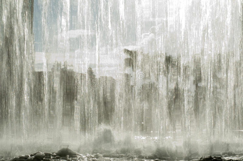 Waterfall Background Royalty Free Stock Image