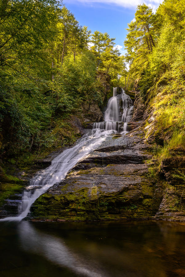 Download Waterfall stock image. Image of jungle, flow, fantasy - 33480745