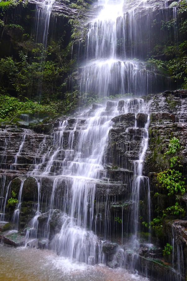 Download Waterfall stock photo. Image of earth, clear, background - 33128182