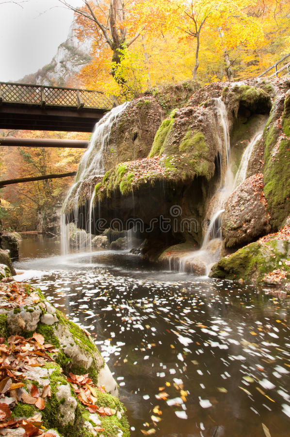 Waterfall Bigar. Bigar waterfall from Romania, one of the most beautiful waterfall from the world royalty free stock photos