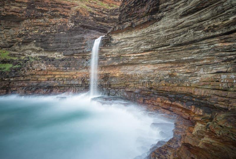 Waterfall Bluff royalty free stock photos