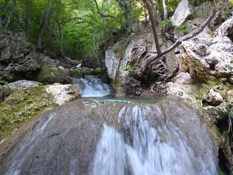 Waterfall, Body Of Water, Nature Reserve, Stream stock photography