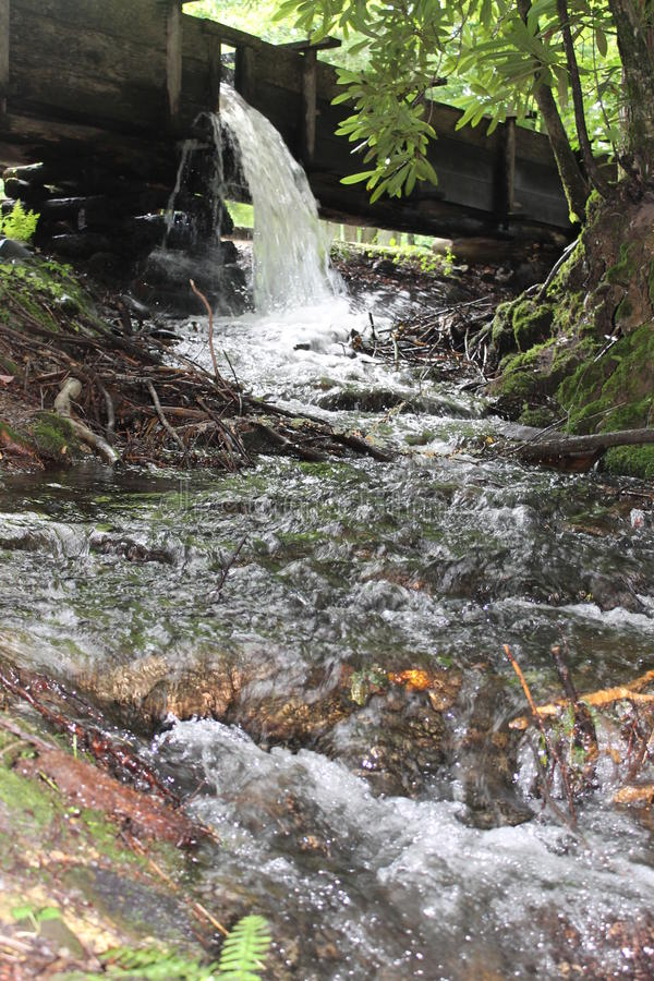 Download Waterfall At Cable Mill In Cades Cove Stock Photo - Image: 33223582
