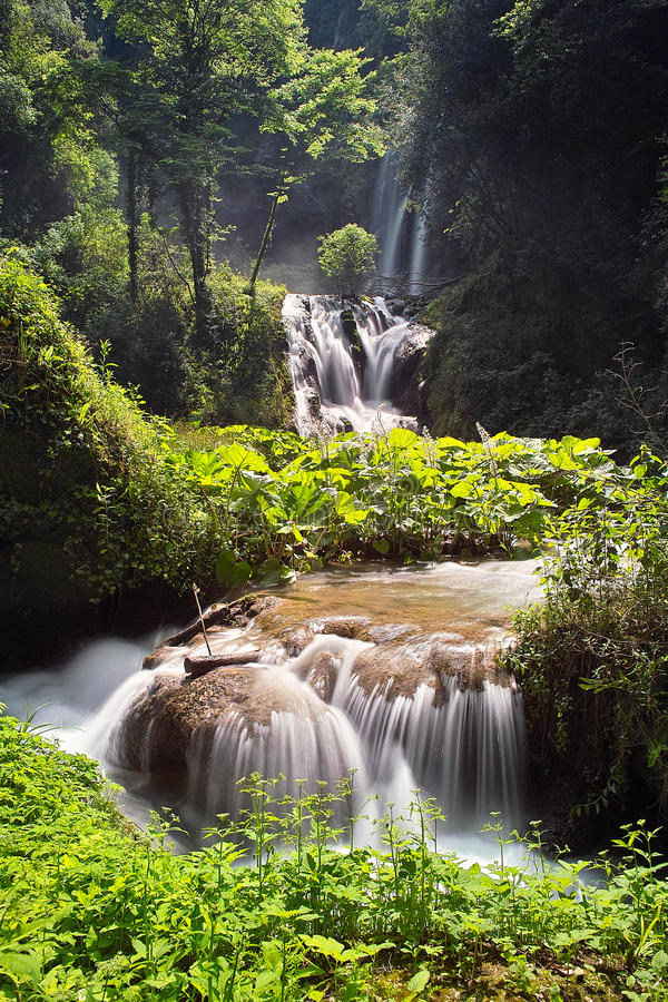 Download Waterfall cascade stock image. Image of clear, cascade - 15406743