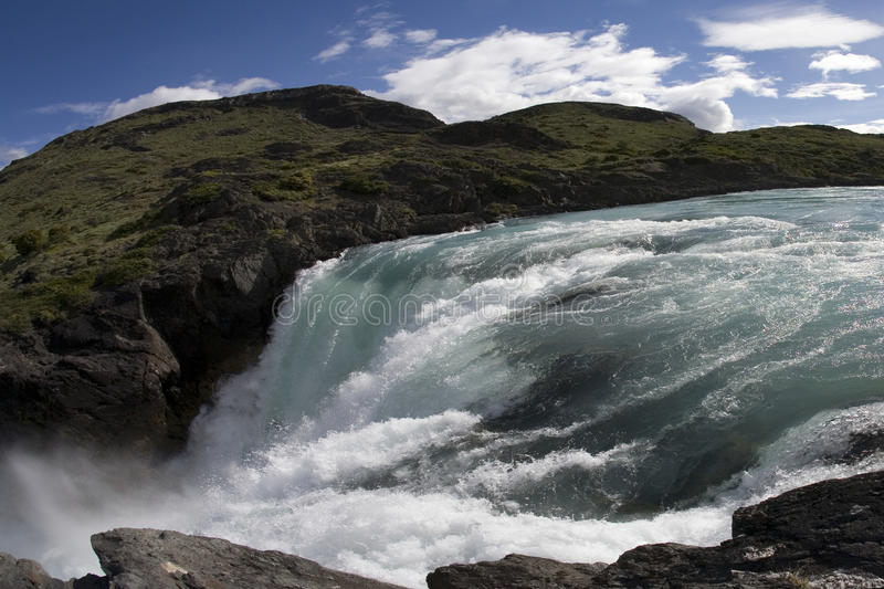 Download Waterfall in Chile stock photo. Image of flowing, pure - 10794166