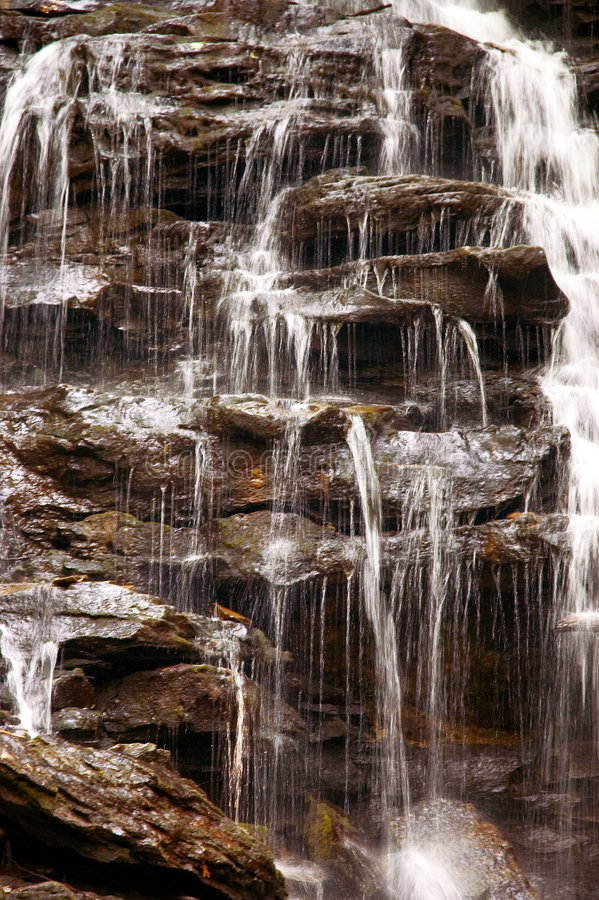 Waterfall Close-up royalty free stock photography
