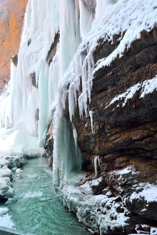 Download Waterfall cold stock photo. Image of peaks, stage, cold - 38110170
