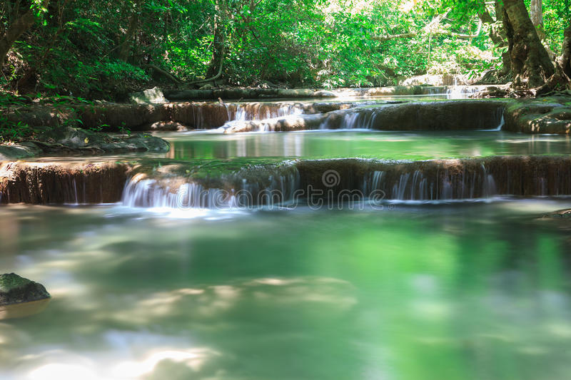 Download Waterfall in deep forest stock image. Image of amazing - 24721151