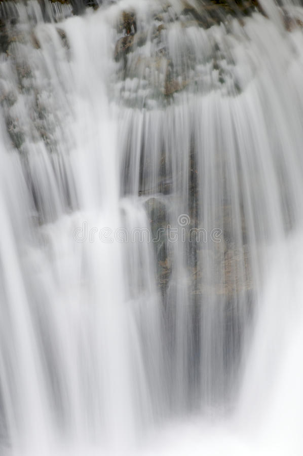 Waterfall detail stock photography