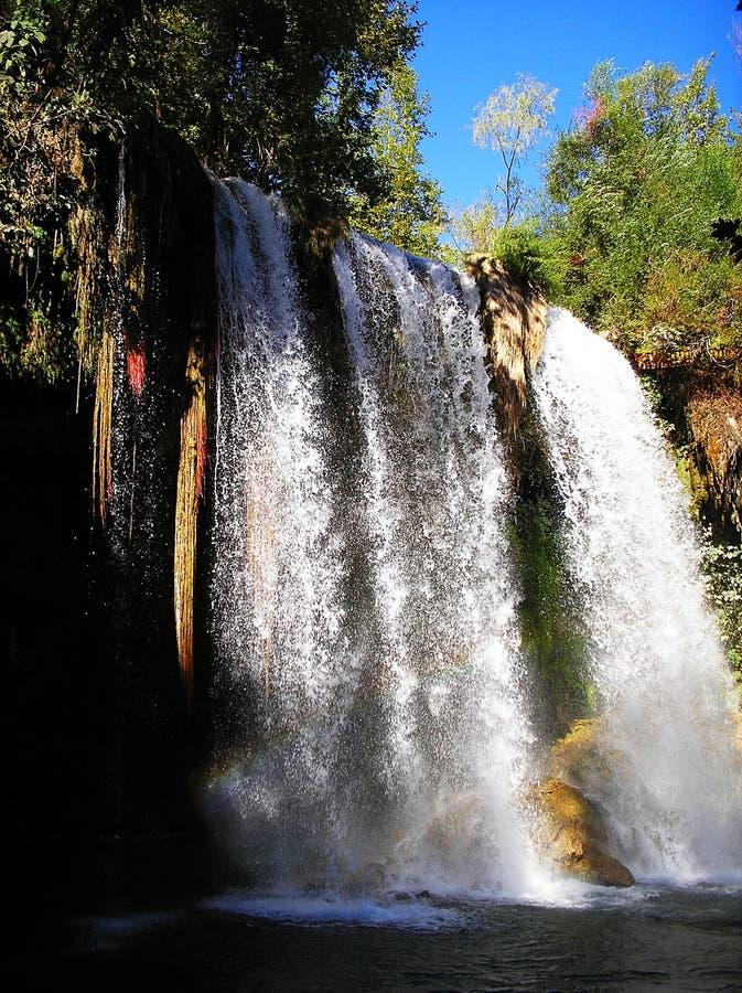 Waterfall Duden, Antalya royalty free stock photo