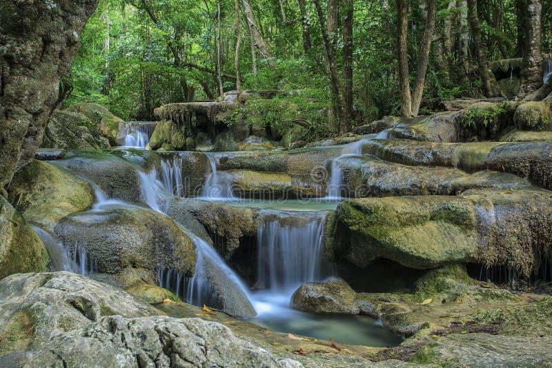 Download Waterfall Eravan, In Kanchanabury, Thailand Stock Images - Image: 25869524