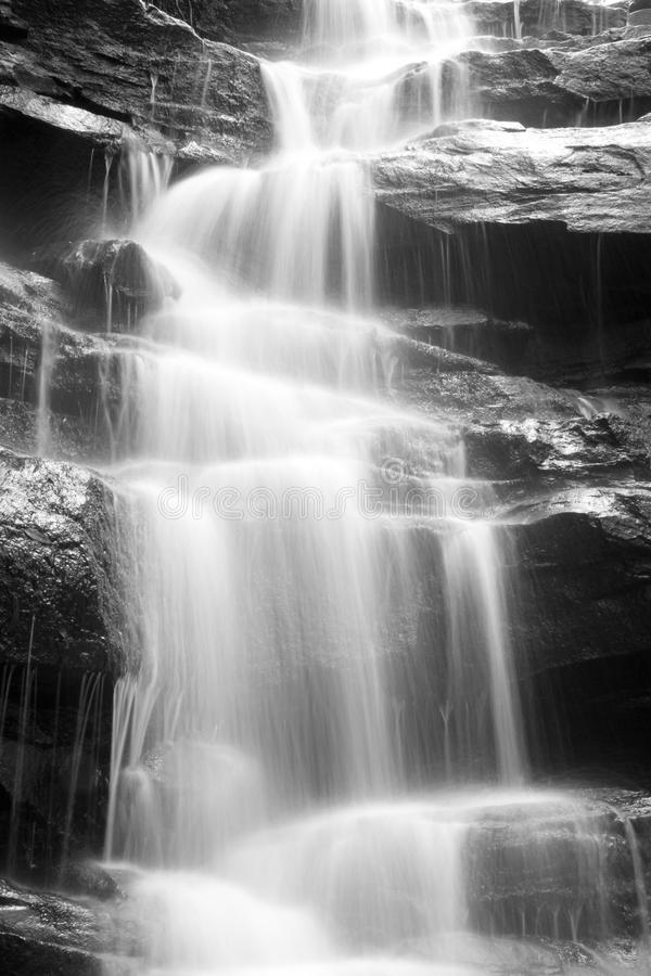 Waterfall front 2 stock photos