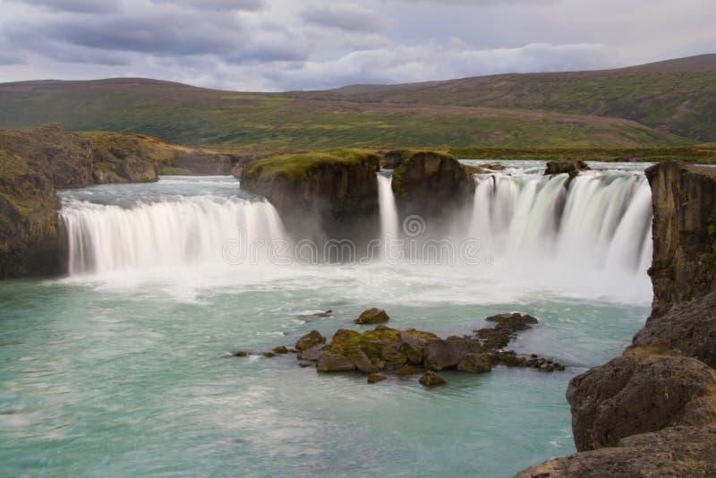 Waterfall Godafoss royalty free stock photos
