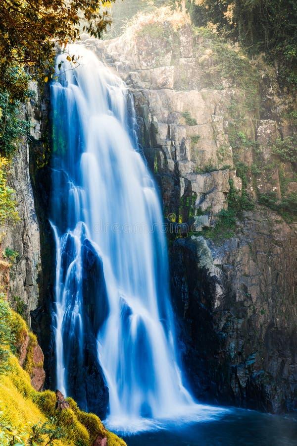 Waterfall. Hew narok waterfall in khao Yai national park of Thailand royalty free stock image