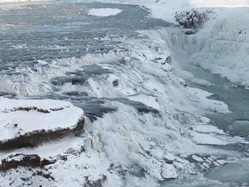 Waterfall, Iceland royalty free stock photo