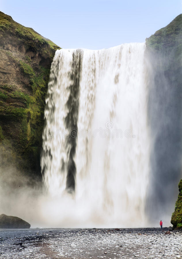 Download Waterfall stock image. Image of seljalandsfoss, flow - 33431845