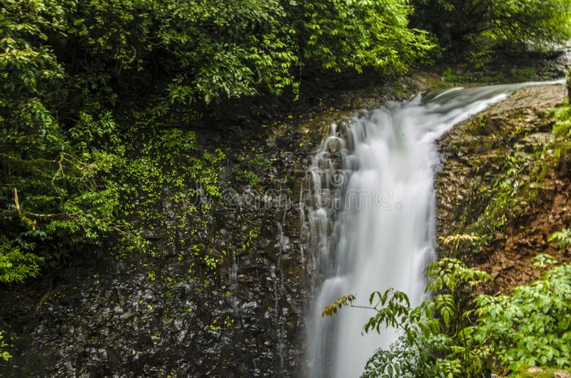 Waterfall in India royalty free stock photo
