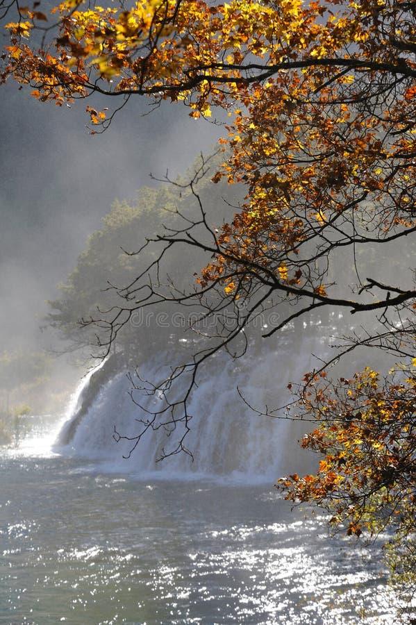 Download Waterfall  in Jiuzhaigou stock photo. Image of colorful - 27533172