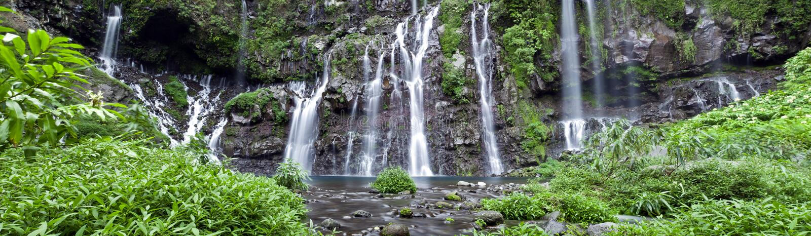 Download Waterfall in jungle stock image. Image of scenery, motion - 19065775