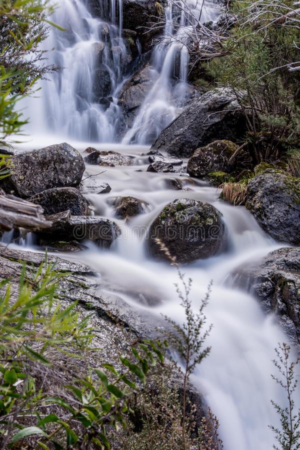 Waterfall in Kosciuszko National Park royalty free stock image