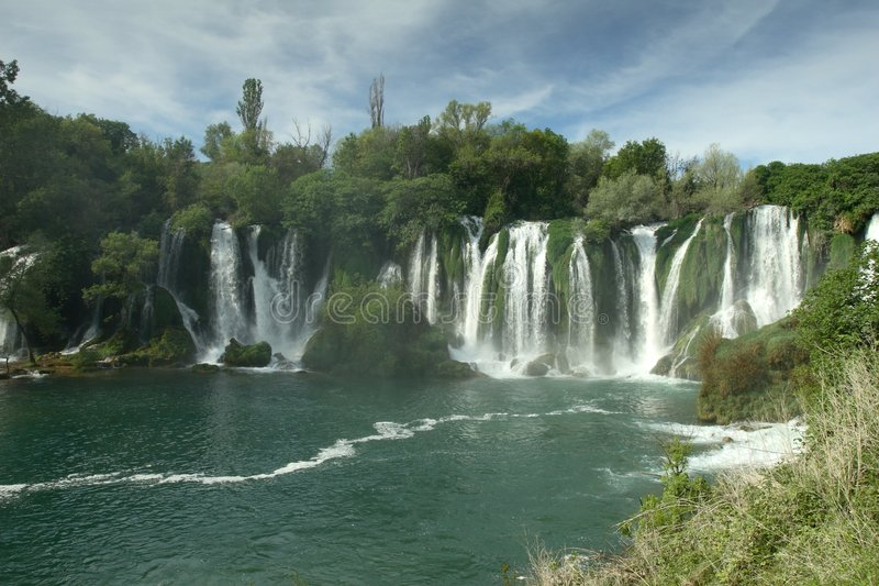 Download Waterfall Kravica In Bosnia And Herzegovina Stock Photo - Image: 4016468