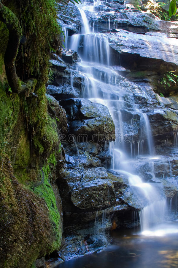 Waterfall left royalty free stock images