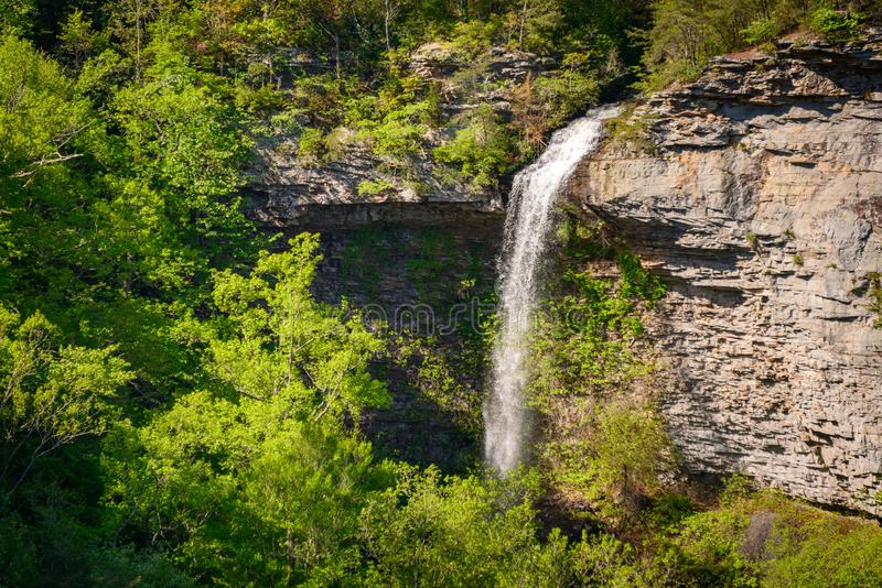 Waterfall at Little River Canyon National Preserve stock photography