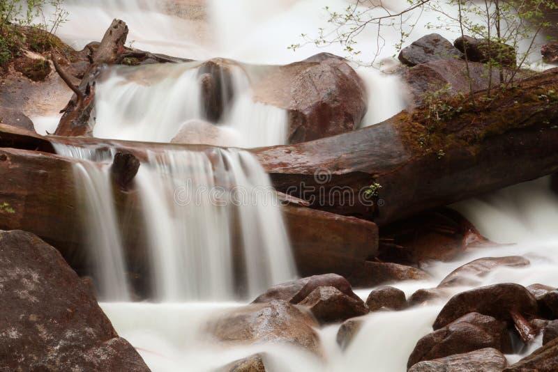 Waterfall Long Exposure Stock Image