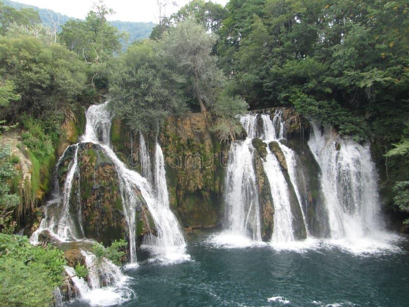 Waterfall Martin Brod stock photo
