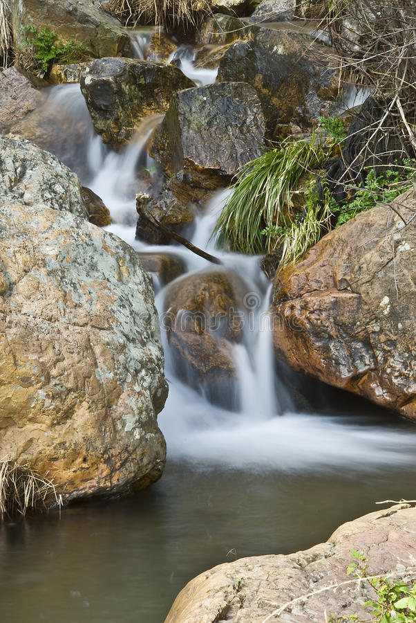 Waterfall In Monfrague. Royalty Free Stock Photos