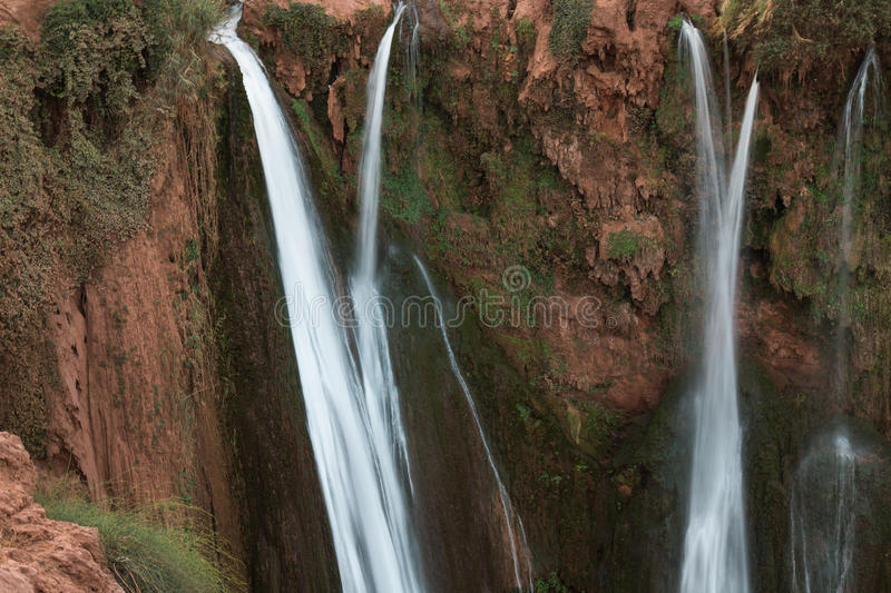 Waterfall in Morocco royalty free stock photography