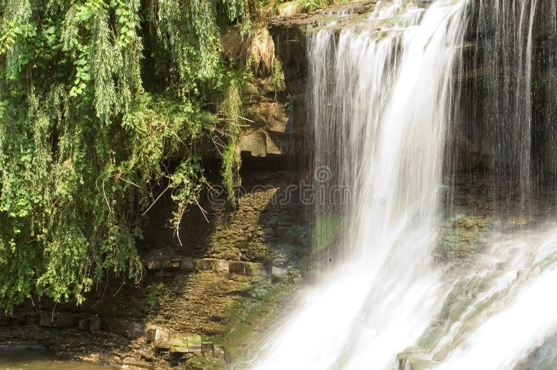 Download Waterfall, Motion Blurred Royalty Free Stock Image - Image: 10176