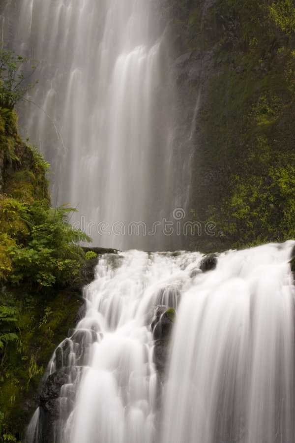 Waterfall multi levels royalty free stock photography