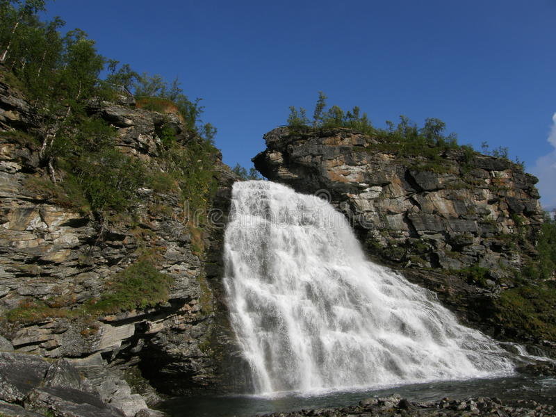 Download Waterfall In The North Of Norway Royalty Free Stock Photo - Image: 26546525