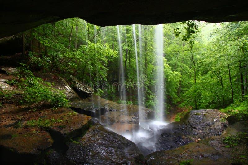 Waterfall in northern Alabama royalty free stock photo