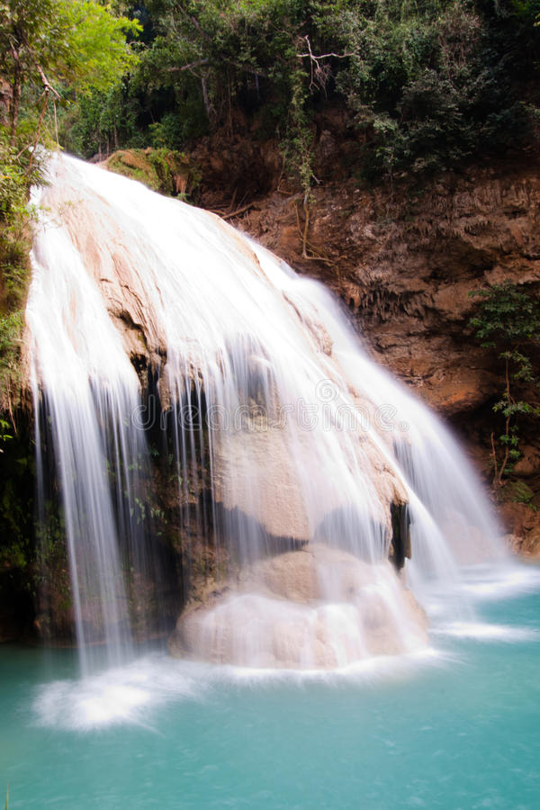 Free Waterfall Of Blue Waters Stock Images - 22593054