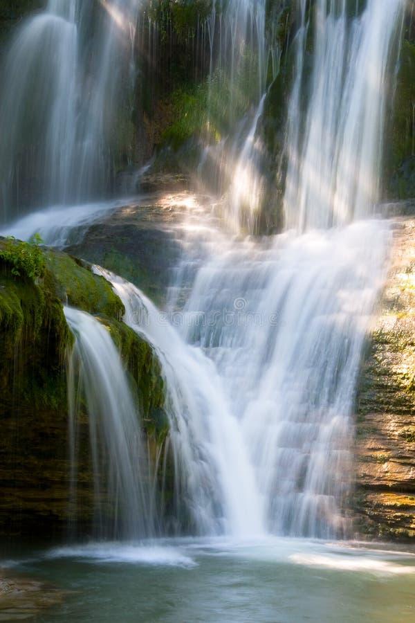 Download Waterfall of Peñaladros stock image. Image of green, beautiful - 9628047
