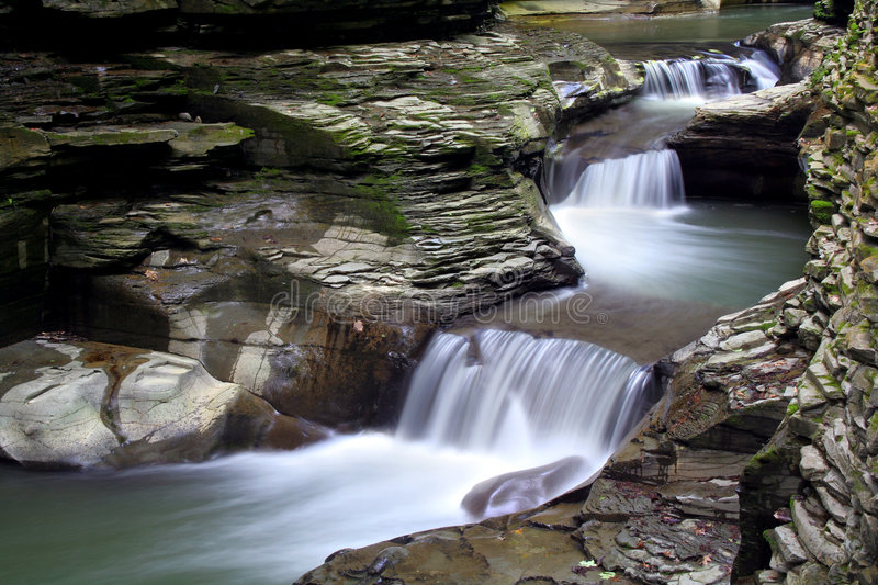 Waterfall Pools royalty free stock photography