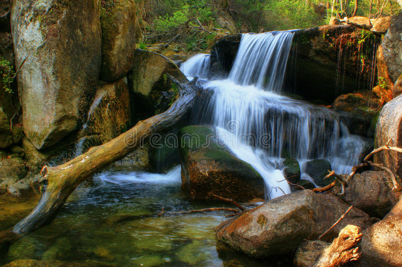 Download Waterfall Of Queimadela In Fafe Stock Photo - Image: 60369122