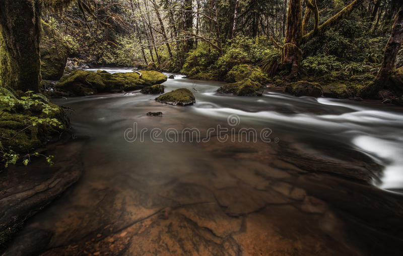 Waterfall and Riverflow royalty free stock photos