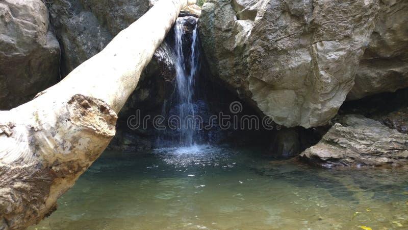 Waterfall& x27; s royalty-vrije stock foto
