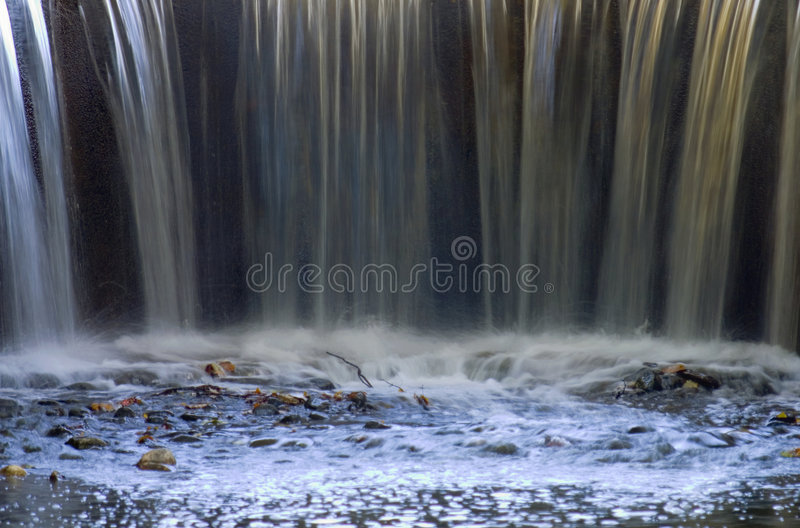 Waterfall's End royalty free stock photos