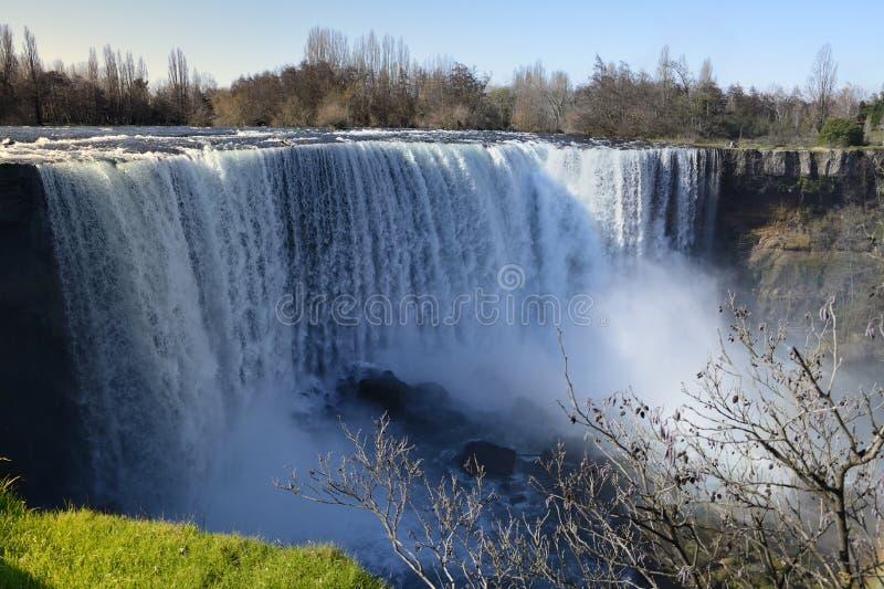 Waterfall. Saltos del Laja, Laja River waterfall in the region of Biobio. Chile stock photos
