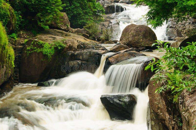 Download Waterfall at sarika stock image. Image of green, moss - 26412311