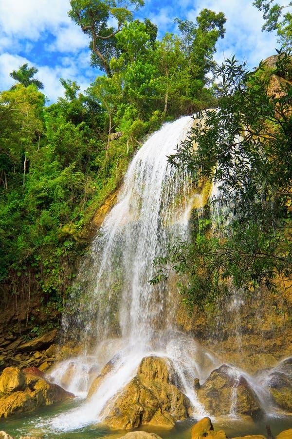 Download Waterfall In Soroa,a Cuban Touristic Landmark Royalty Free Stock Image - Image: 22710346