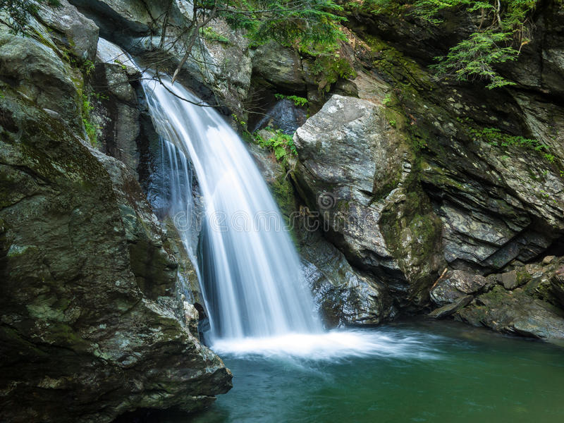 Download Waterfall, Stowe Vermont stock image. Image of creek - 25049203