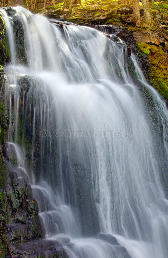 Waterfall in Sweden stock photos