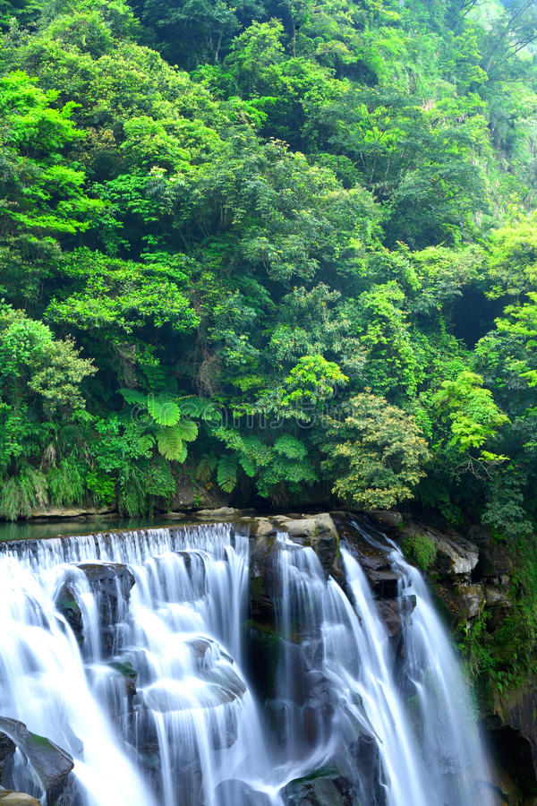 Download Waterfall in taiwan stock image. Image of wallpaper, nature - 26498901