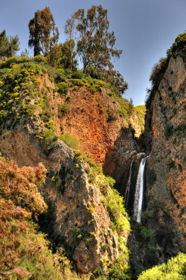 Waterfall Tanur(HDR) royalty free stock photo